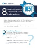 8 Best Practices for A Successful LMS Implementation Brief