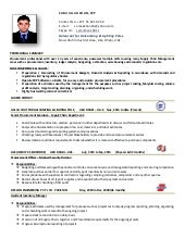 Purchase Officer Resume Sample Pdf Professional Resume Templates