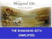 Bhagwad Gita - Free Pictorial PDF Presentation in English