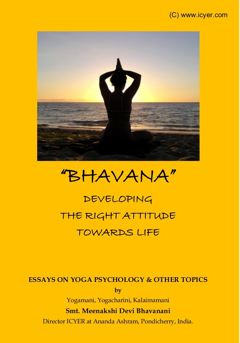 bhavana essays on yoga psychology