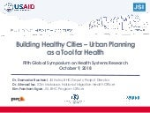 Building Healthy Cities - Urban Planning as a Tool for Health