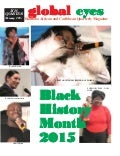 BHM edition Global Eyes Magazine 2015