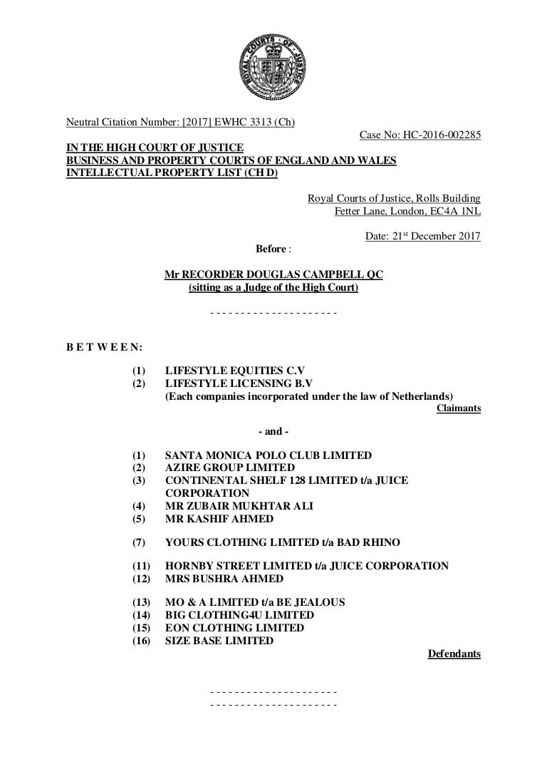 Bhpc approved judgment falaconquin