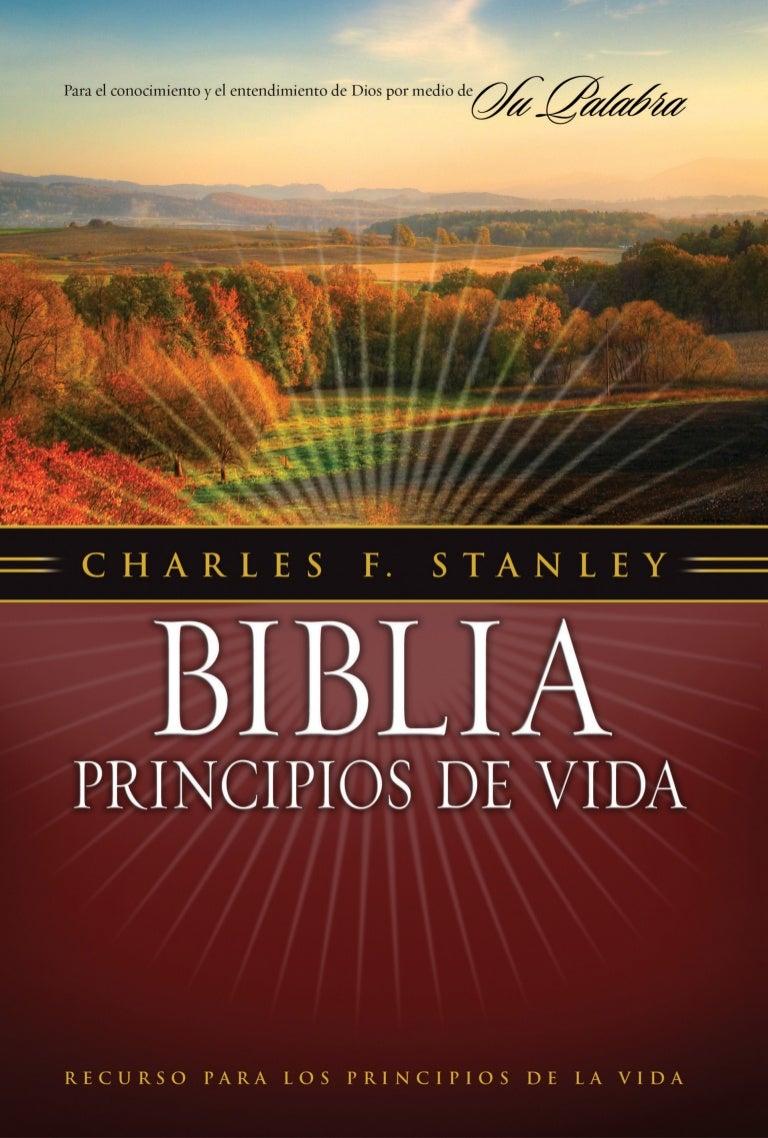 Biblia Principios De Vida Del Dr Charles F Stanley Libro De Efesios