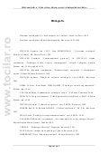Bibliografie   www.tocilar.ro