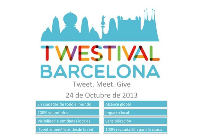 Twestival Barcelona 2009 - 2013