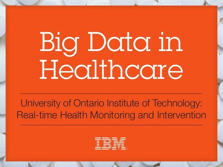 Big Data in Healthcare: Real-time Health Monitoring and
