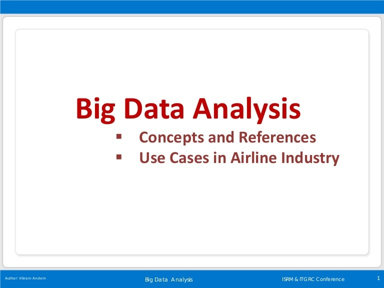 Big data analysis concepts and references fandeluxe Image collections