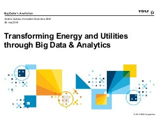 Big Data Analytics in Energy & Utilities