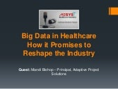 Big data in healthcare – how it promises to reshape the industry