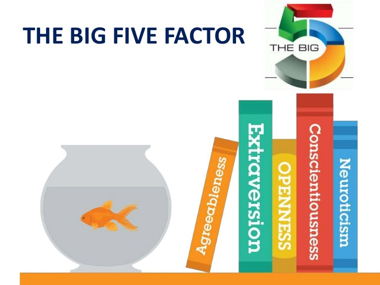 Model five extraversion big in The five
