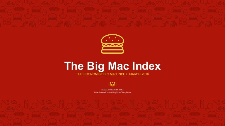Bigmac Index Powerpoint Template Free