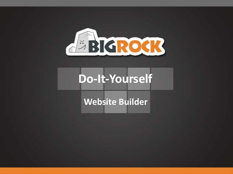 Bigrocks do it yourself website builder tool solutioingenieria Gallery