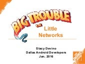 Big Trouble in Little Networks, new and improved