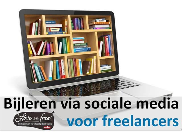 Bijleren via sociale media voor freelancers