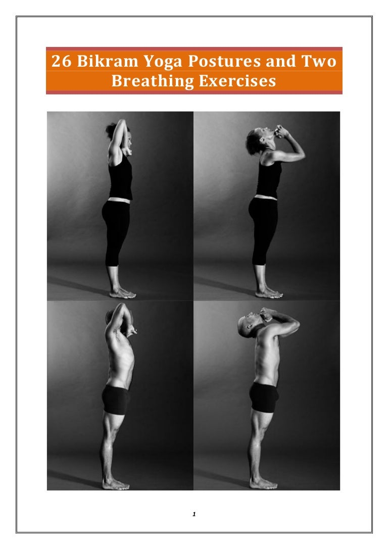 Bikram Yoga Poses And Names