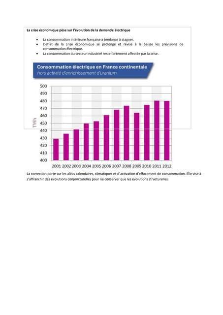 Bilan prévisonnel 2013