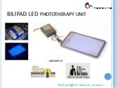Bilipad LED Phototherapy unit