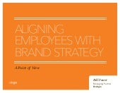 Aligning Employees with Brand Strategy