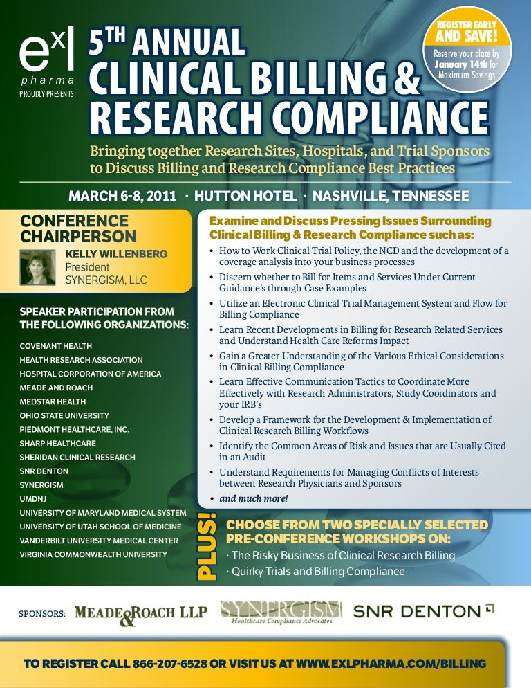 5th Annual Clinical Billing & Research Compliance, March