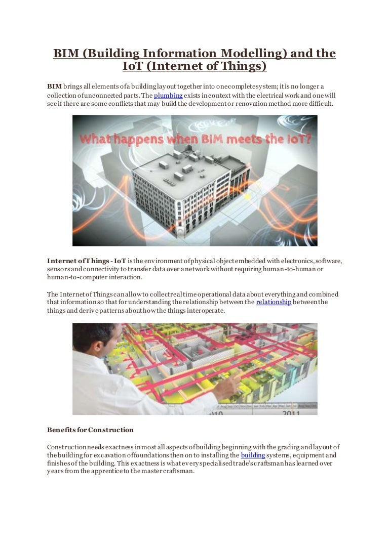 Bim Building Information Modelling And The Iot Internet Of Things Network Wiring Diagram Together With Puter Work