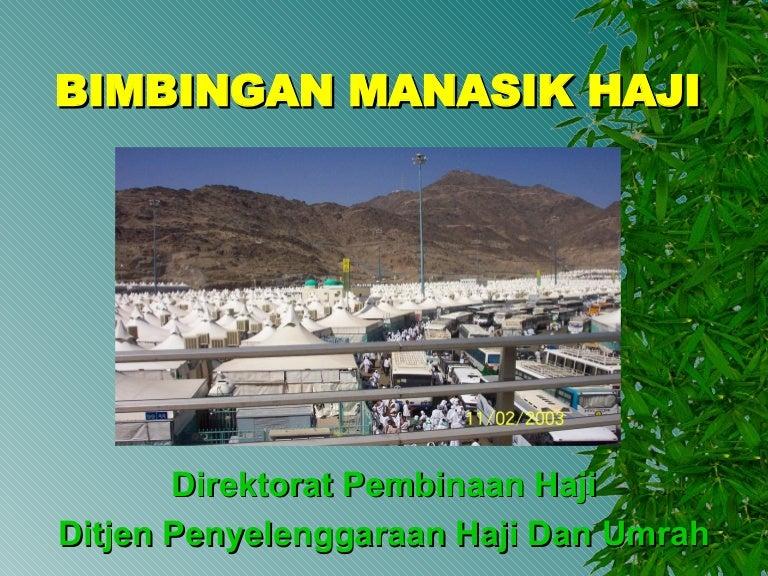 Bimbingan Manasik Haji