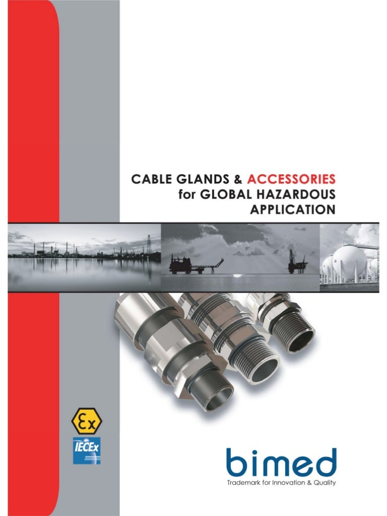 Bimed cable gland explosion proof and industrial