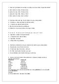 Bimestral sexto ano Língua Portuguesa