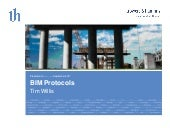 BIM protocols: What are they? Do we need them? What should they contain?