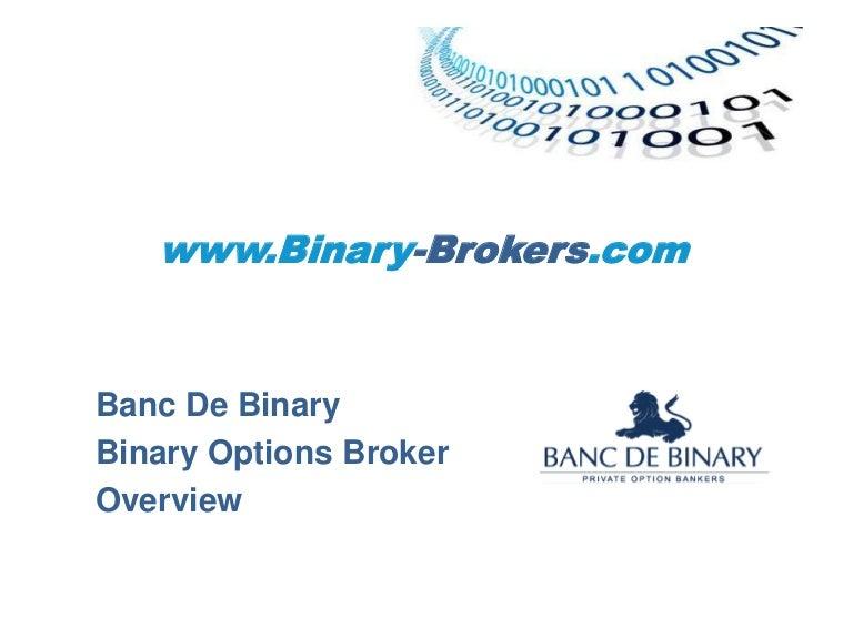Banc De Binary Login