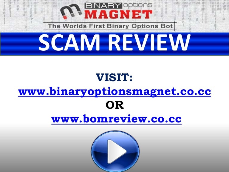 Scammed by binary options