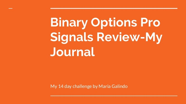 Binary options pro signals opinioni spinelli sports betting college basketball