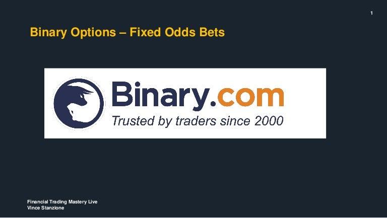 Binary options making money