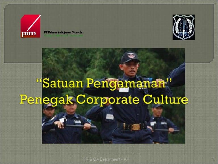Pembinaan Security Di Perusahaan