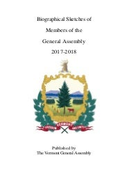 2018 Mid-Term Election Cycle Bio of Members General Assembly