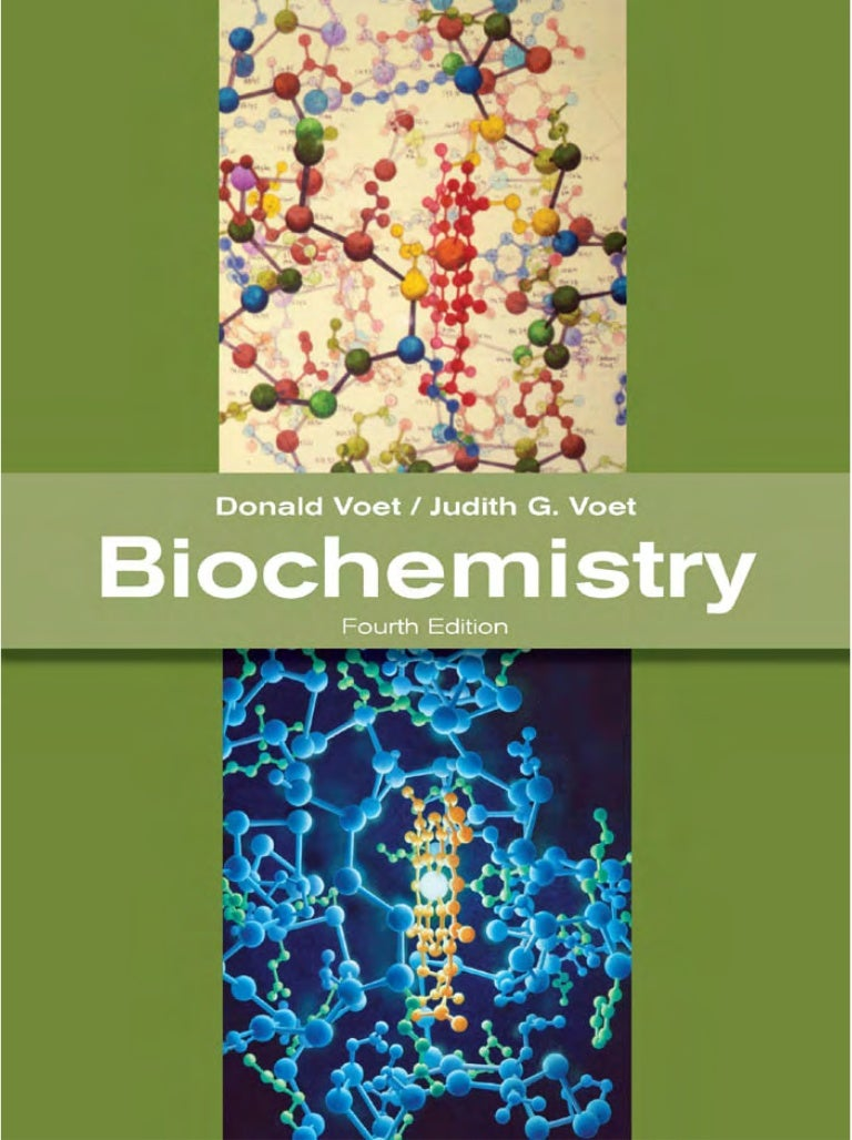 Voet and voet biochemistry 4th edition ebook free download.