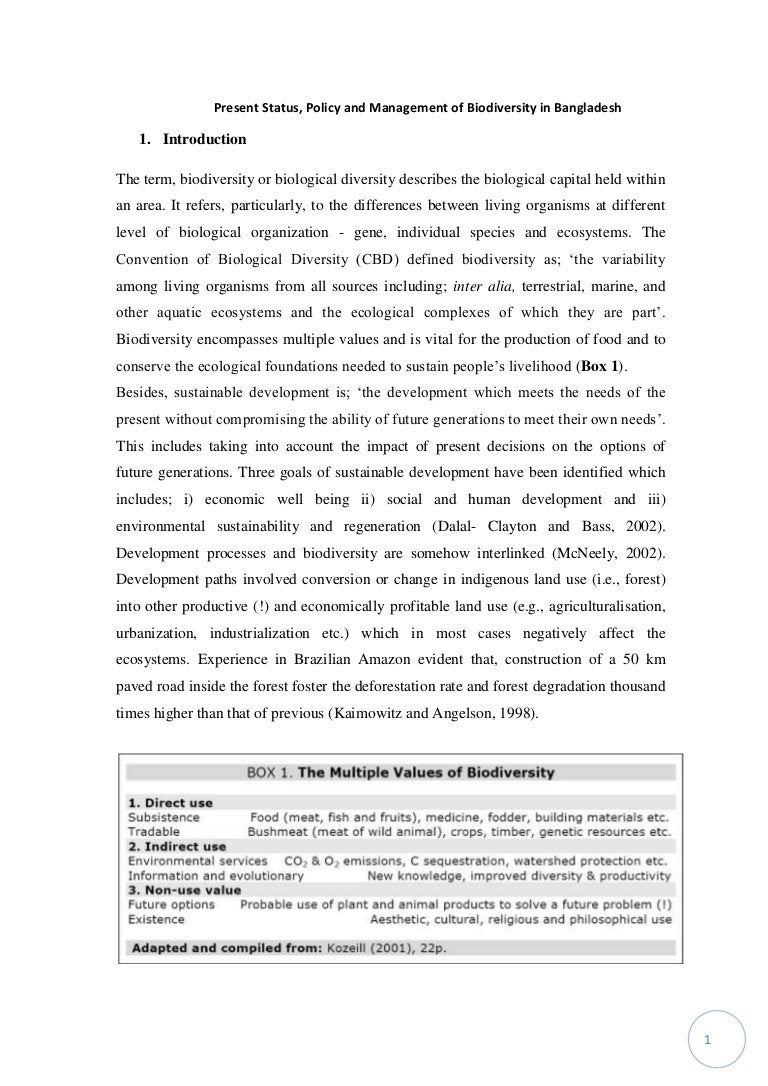 essay on bio diversity remembrance day essay remembrance day essay  present status policy and management of biodiversity in