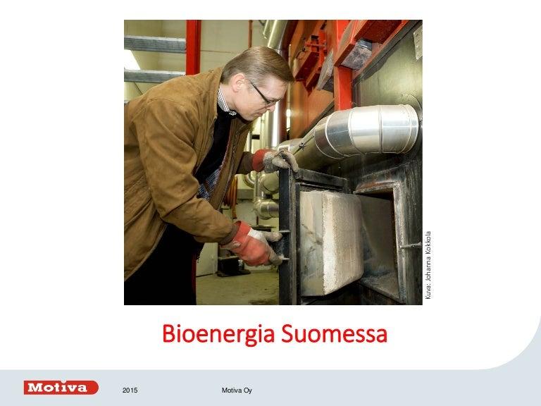 Bioenergia Suomessa