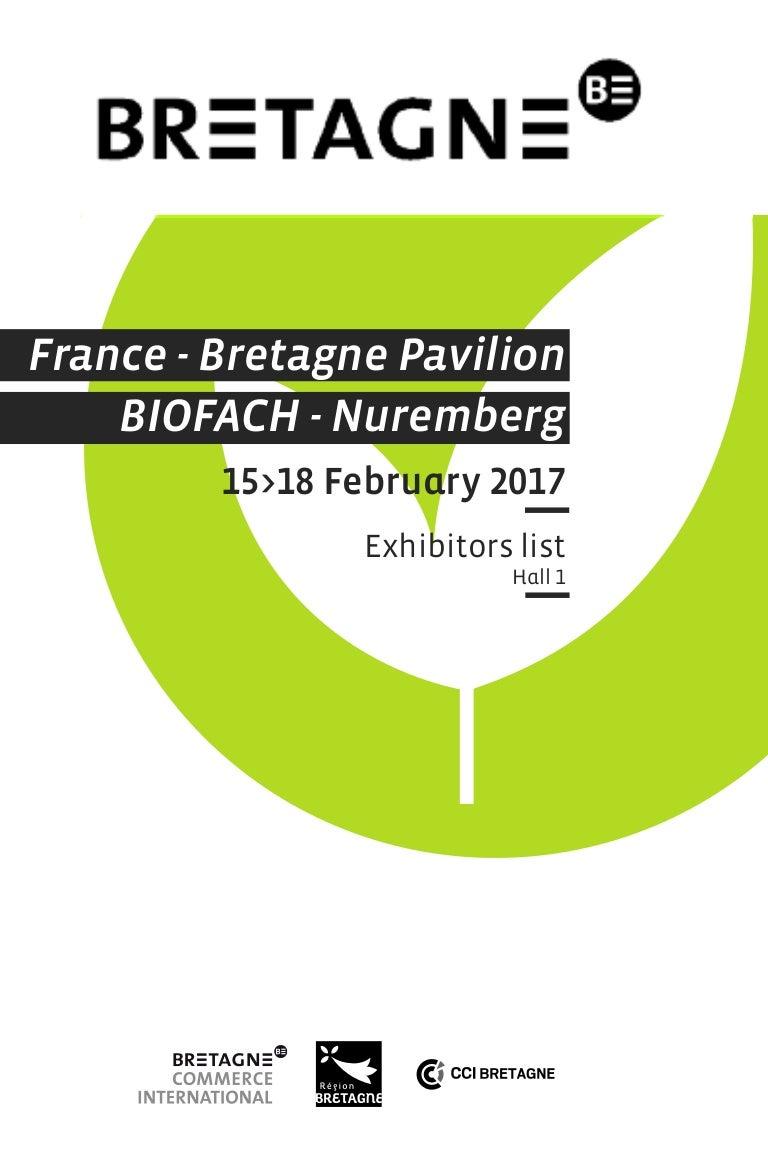 Bretagne At Biofach 2017