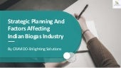 Biogas...next gold income source for reviving economy  factors involved