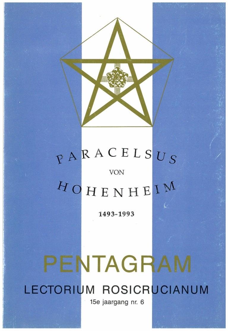 Biografie Paracelsus Theophrastus Von Hohenheim Tijdschrift Pentagram…
