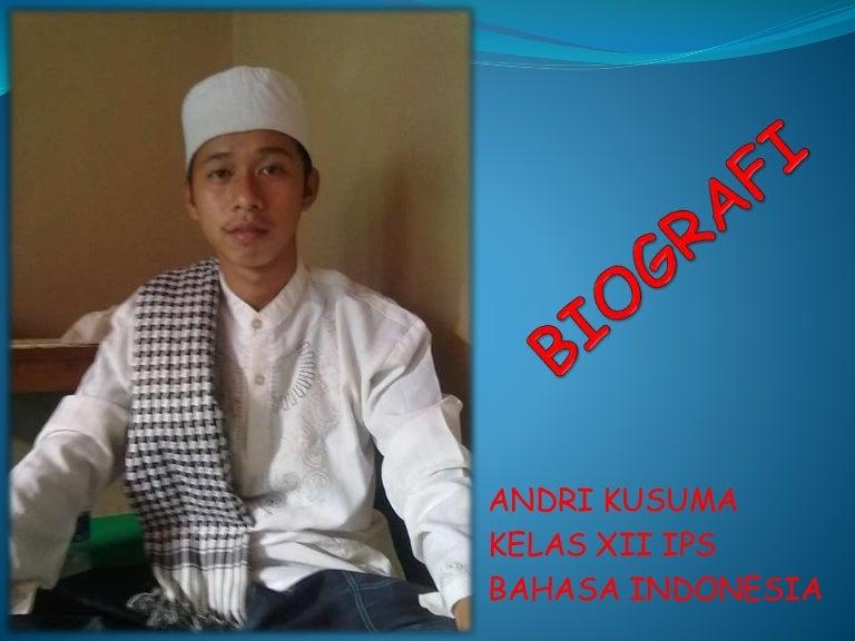 Ppt Biografi Sma Ya Bakii Sukriniam