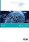 BSI Biometrics Standards Brochure