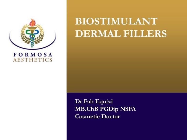 Biostimulant dermal fillers