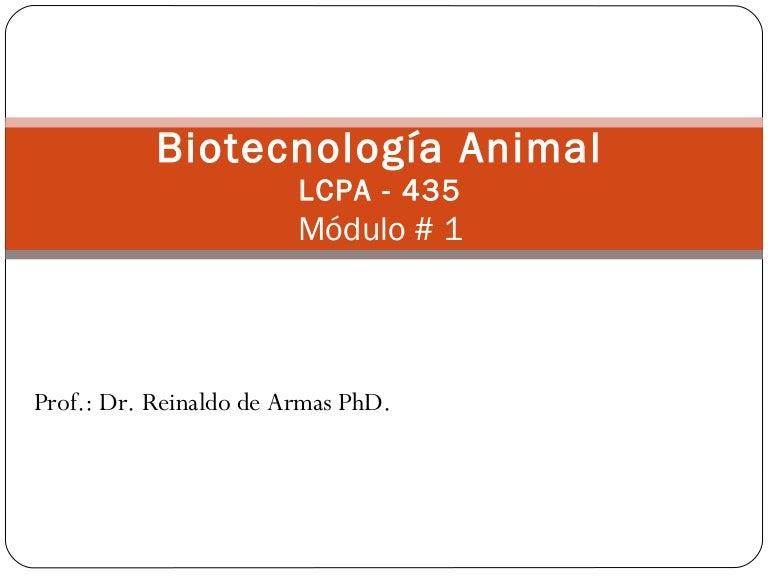 Biotecnología Módulo 1