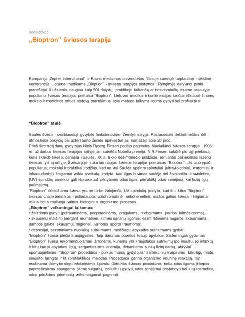 hipertenzijos gydymas bioptronine lempa)