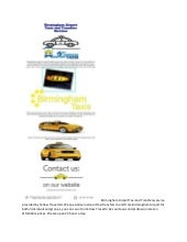 Birmingham airport taxi and transfers service provided by yellow travel ltd