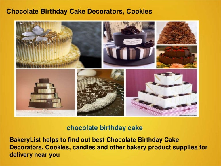 Pleasing Chocolate Birthday Cake Decorators Cookies Funny Birthday Cards Online Bapapcheapnameinfo