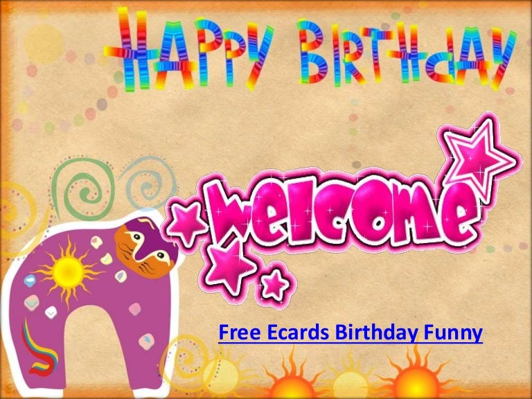 Free Funny Birthday Ecards For Son