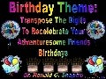 Birthday Theme: Transpose The Digits To Recelebrate Your Adventuresome Friends Birthdays